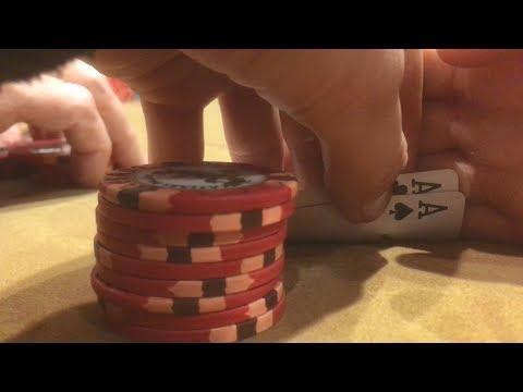 AA vs. Flopped Set at Caesar's Palace $1/$2 NLH | Poker Vlog #8