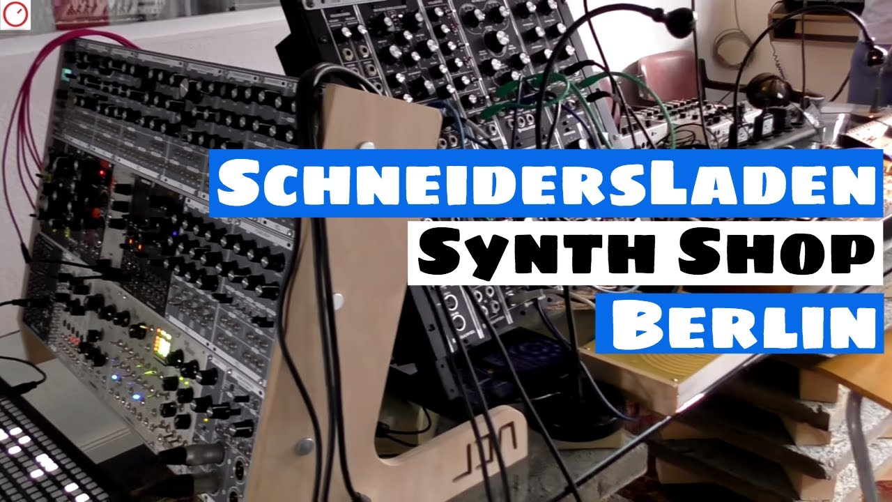 A Synthesizer Paradise In The Middle Of Berlin | Schneidersladen Tour |  SYNTH ANATOMY