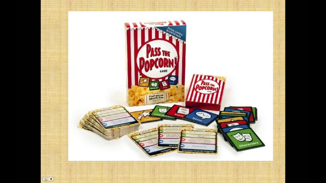 Pass the Popcorn board game review