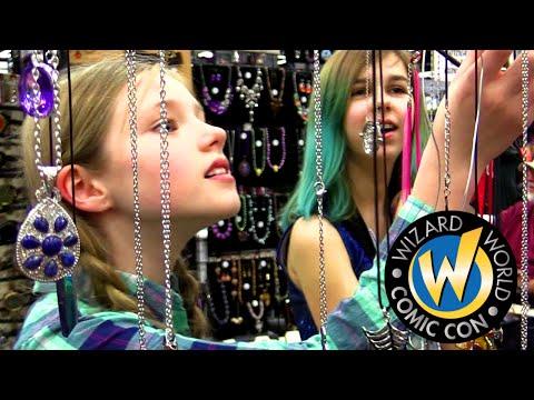 WIZARD WORLD COMIC CON 2016 VLOG | DOCTOR WHO, MAL WEB & TONS OF FUN