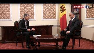 Интервью Президента Республики Молдова Игоря Додона