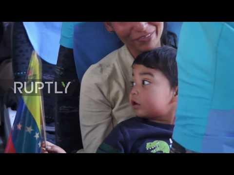 Ecuador: Venezuelans gather at Embassy in Quito to be repatriated