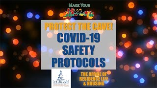 Protect The Cave! COVID-19 Safety Protocols