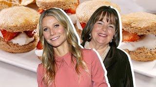 Gwyneth Paltrow Vs. Ina Garten: Whose Strawberry Shortcake Is Better?