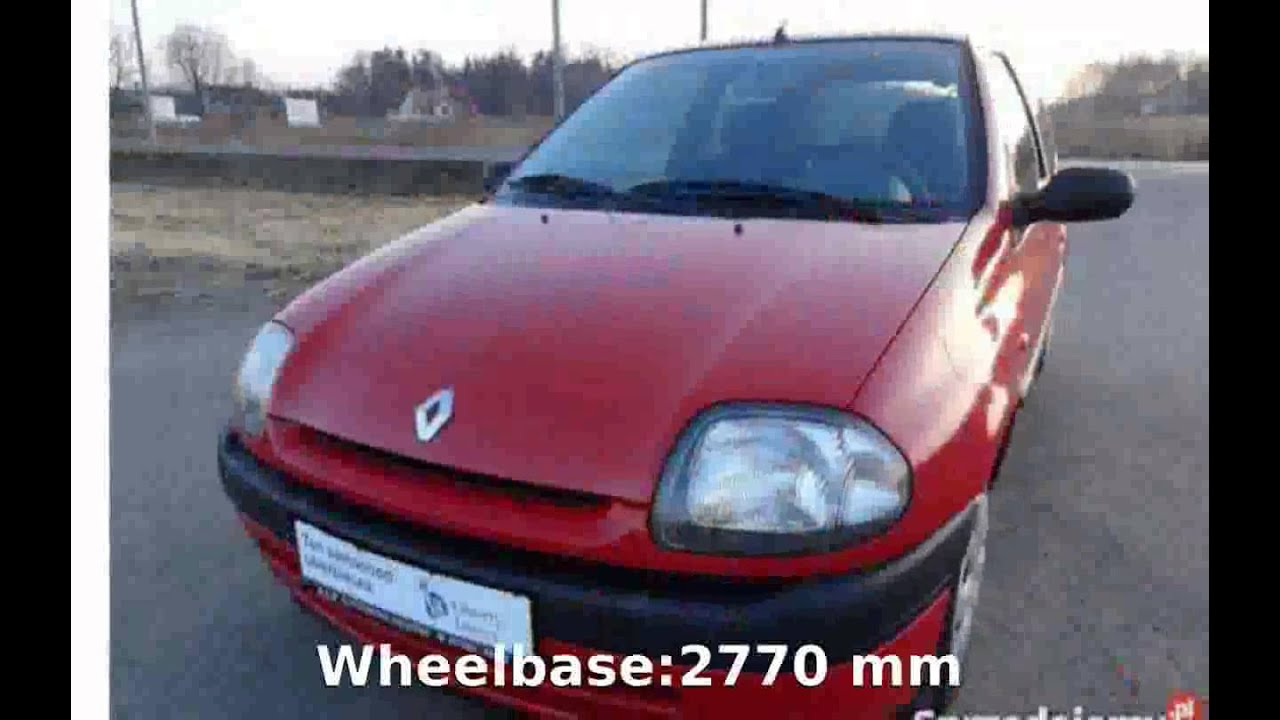 small resolution of 2000 renault clio ii specification and review