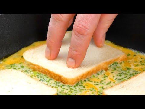 Видео: 2 гениальные идеи для вкусного и сытного омлета к завтраку