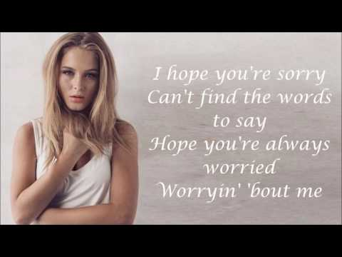 Thumbnail: Zara Larsson ~ I Can't Fall In Love Without You ~ Lyrics