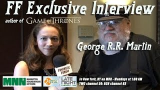 Fantastic Forum Interview with George R.R. Martin