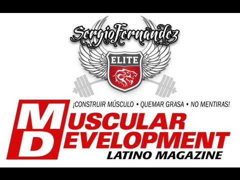 Muscular Development España - Sergio Fernandez - Tips para Pecho
