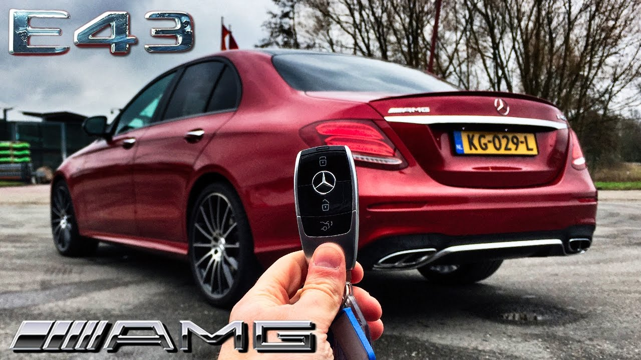 Mercedes Benz E Cl 2017 Review E43 Amg Pov By Autotopnl