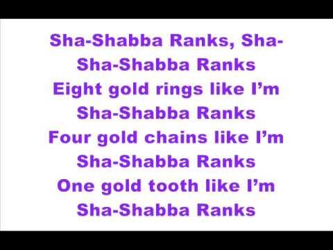 A$AP Ferg - Shabba ft. A$AP Rocky (LYRICS ON SCREEN)