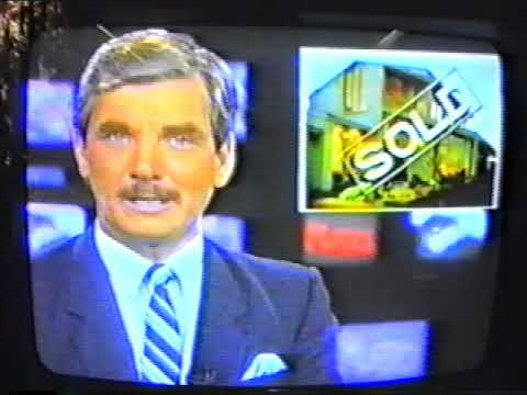 Adelaide TV Channel Surfing By Video Camera 1990