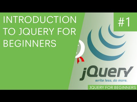 jQuery Tutorials for Beginners