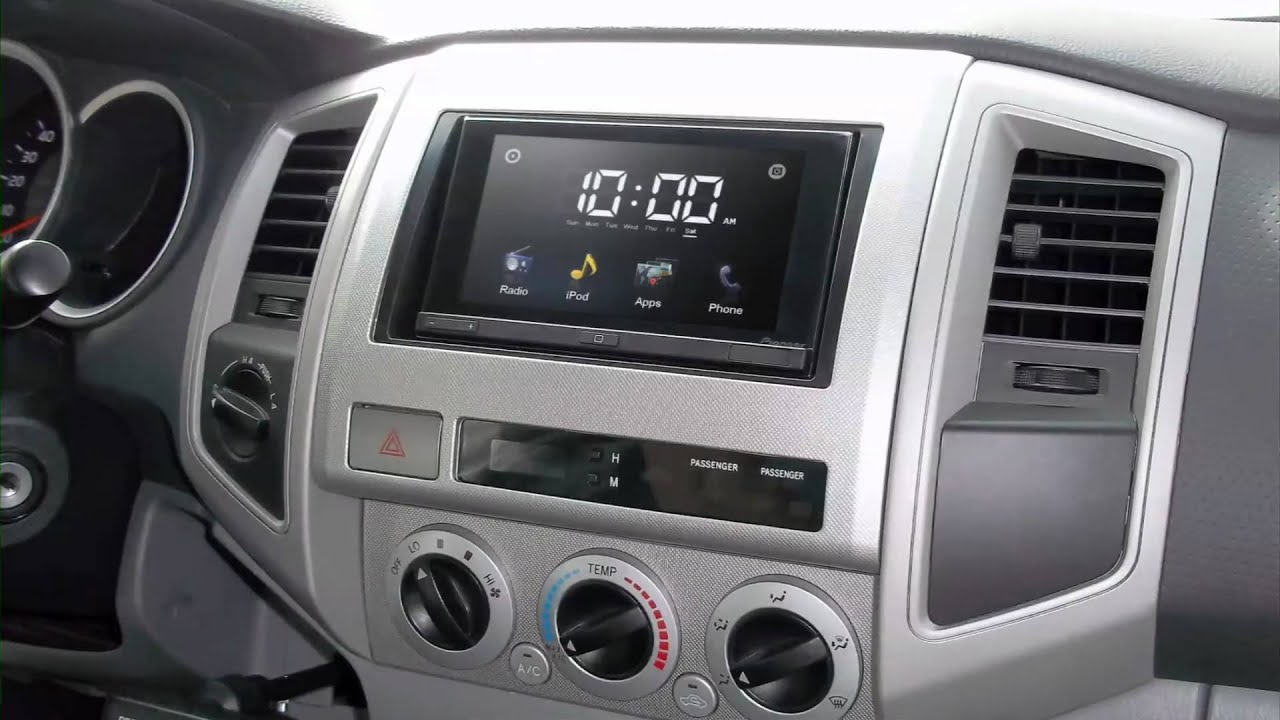 Watch on toyota replacement radios