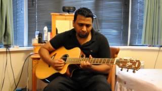 Kanne Kalaimane Guitar Solo By Abhi