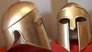 How To Make A Metal Spartan Helmet