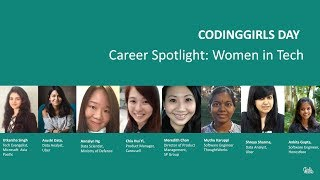Career Spotlight: All you want to know about my techie job - CodingGirls Day 2017