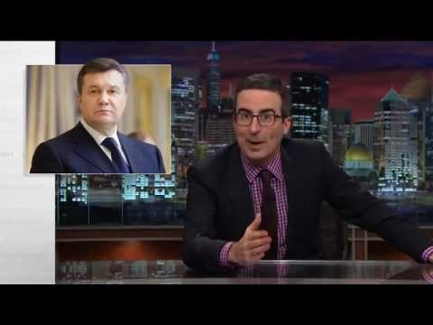 John Oliver on Yanukovych's Ostriches