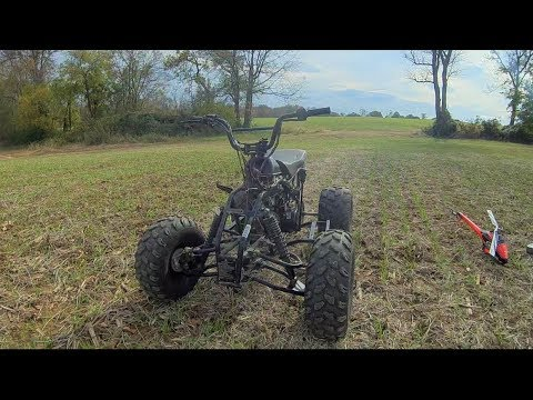 Tao Tao 110cc Chinese ATV - Skeleton Edition