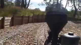 Chloe ride Bitter Creek Western railroad work/run