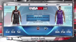 ThrowBack NBA 2k14 Uniforms