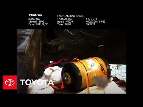 Tank Safety: Hydrogen Tank Gunshot | Toyota