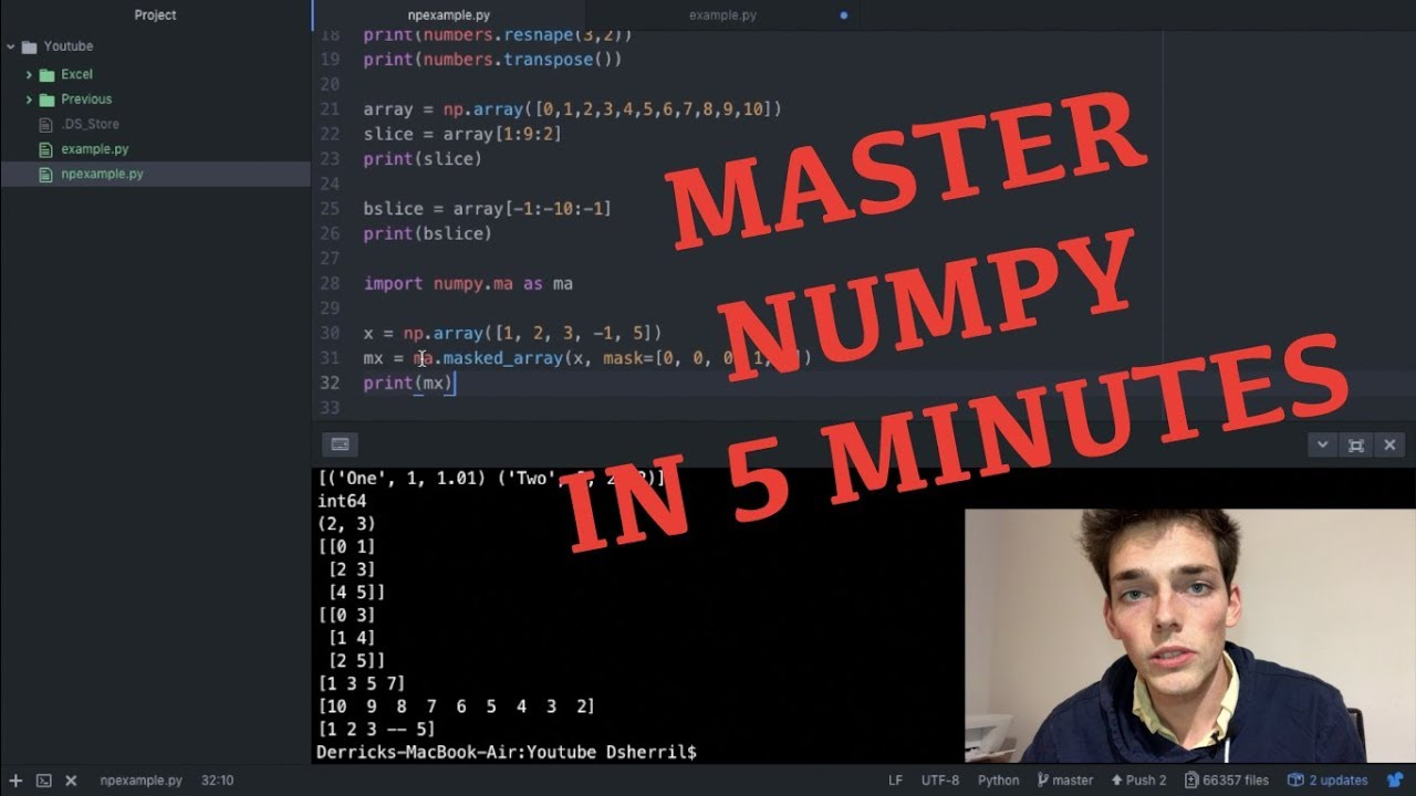 Numpy Tutorial - Best Python Packages Series (FAST!)