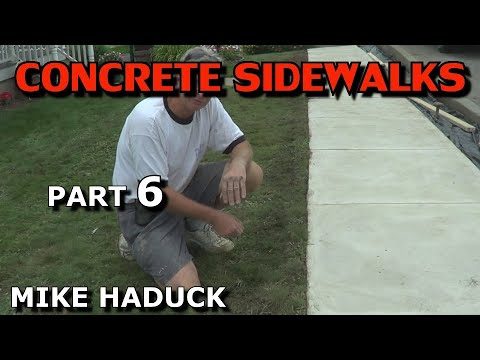 how to make a concrete float