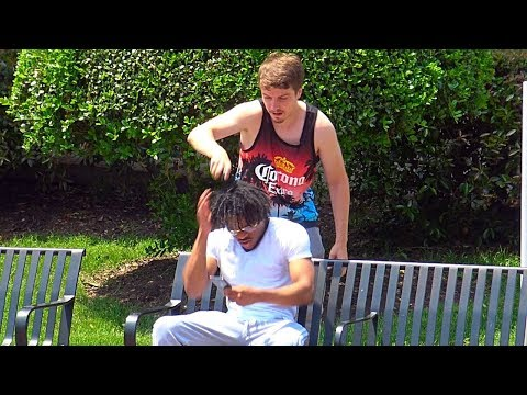 Shaving Peoples Heads Prank
