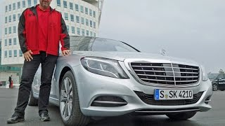 All-new Mercedes S 500 Plug-In Hybrid   Drive-Report   Review   Test   HD   English