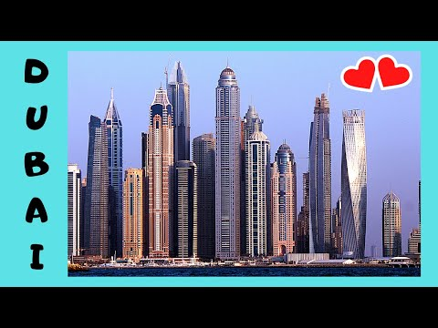 DUBAI: The city's impressive, ultra-modern SKYSCRAPERS (UAE)