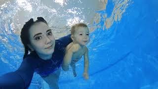 Грудничковое плавание в Геленджике | BIG WAVE #03