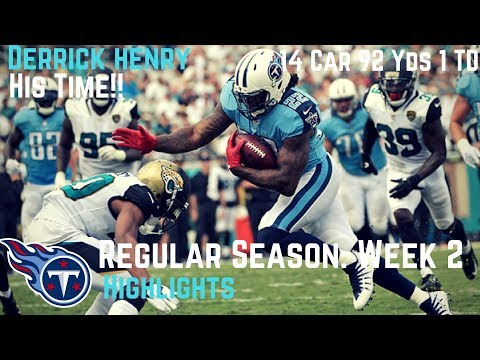 Derrick Henry Week 2 Regular Season Highlights His Time | 9/17/2017