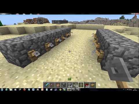 Minecraft Como Fazer Armadilha Com Flechas
