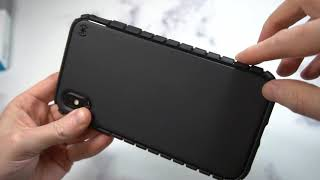 Speck ToughSkin Case for Apple iPhone XS Max Unboxing and Review