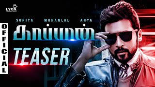 Kaappaan Official Teaser | Suriya, Arya, Mohanlal Movie | Release Date