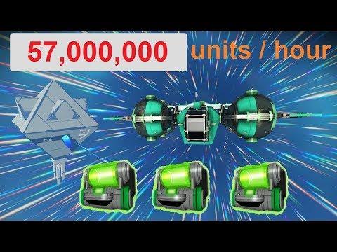 No Man's Sky 1.37 - still 57,000,000  units/hour trading crashed Dynamic Resonators