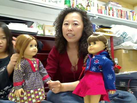 American Girl Doll Emily Visit Molly.wmv