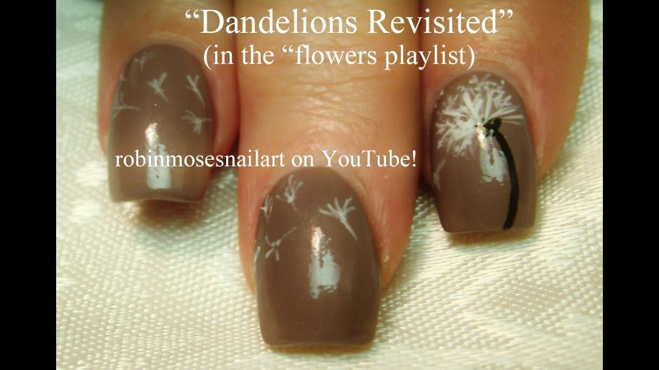 3 nail art tutorials easy nail art for beginners dandelion 3 nail art tutorials easy nail art for beginners dandelion nails youtube prinsesfo Choice Image