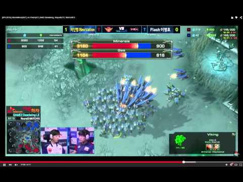 [SPL2015] INnoVation(SKT) vs Flash(KT) Set2 Deadwing Part 2