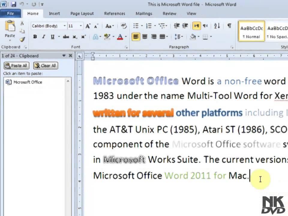 microsoft word 2011 free