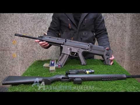 Présentation des armes ISSC  SPA22, M22 et MK22