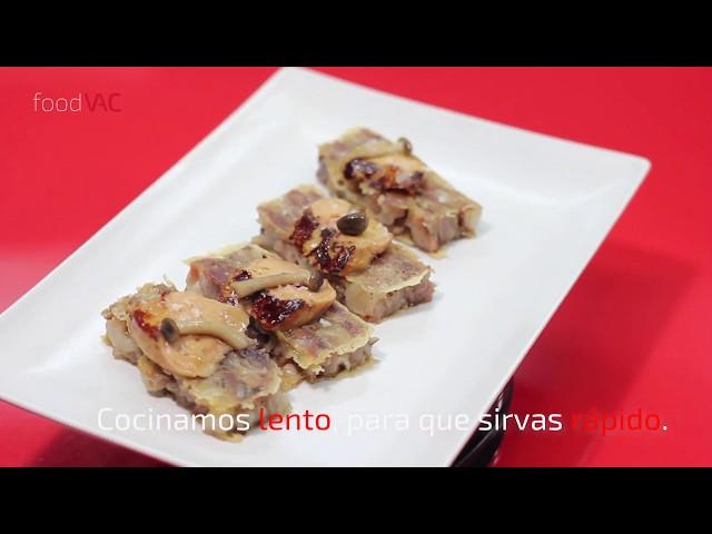Regeneración de Manitas de Cerdo Deshuesadas foodVAC
