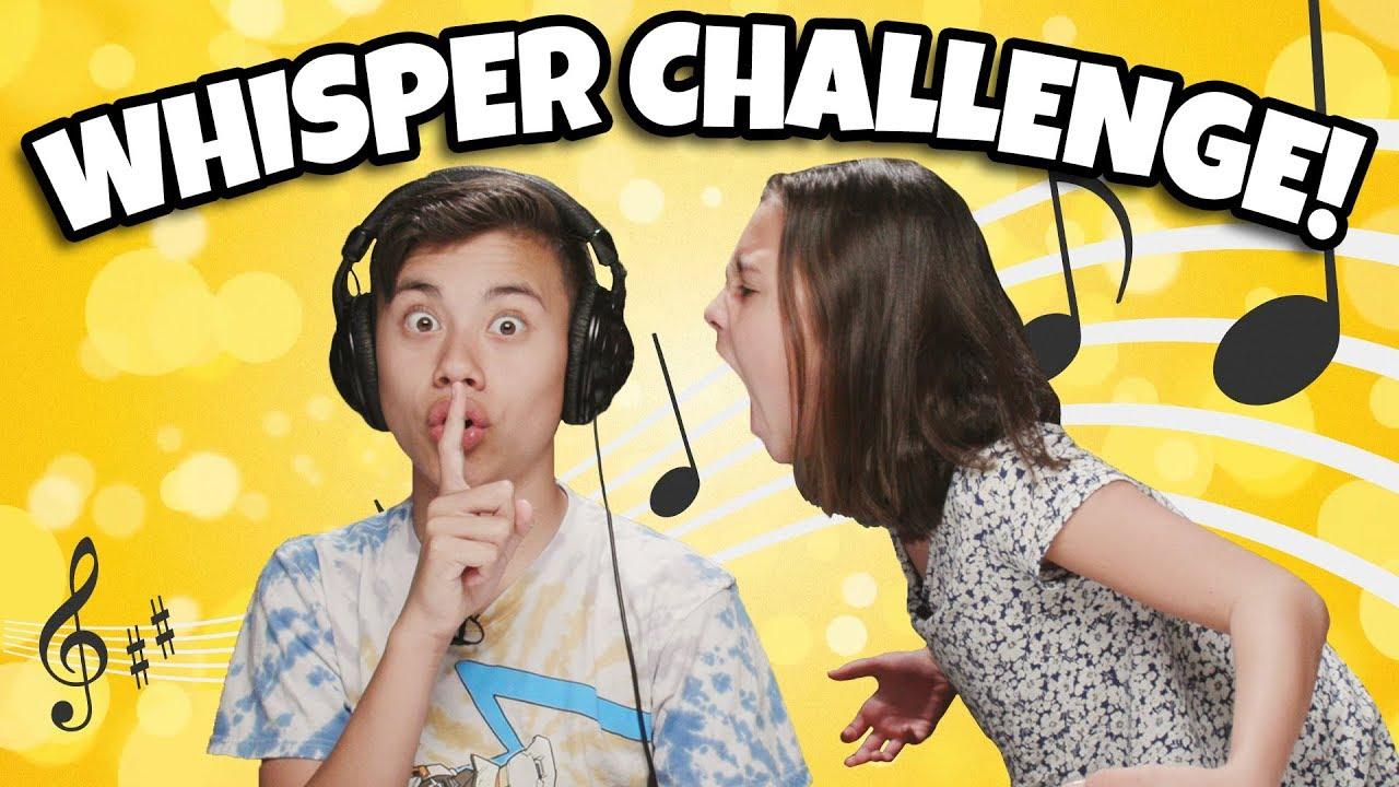 WHISPER CHALLENGE!!! Brother vs. Sister Lip Reading Contest!
