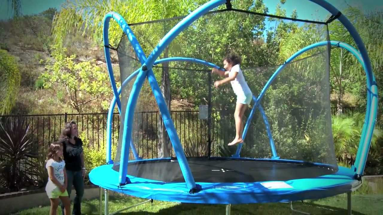 Funtek Trampoline - Now Available at Rebel Sport! - YouTube