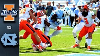 North Carolina vs. Illinois | 2015 ACC Football Highlights