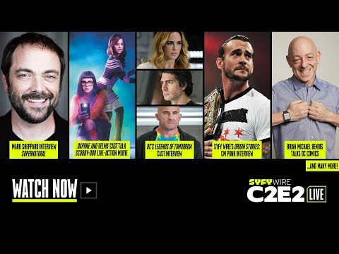 Legends of Tomorrow, Overwatch and DC Comics | C2E2 Live Stage (Day 2) | SYFY WIRE