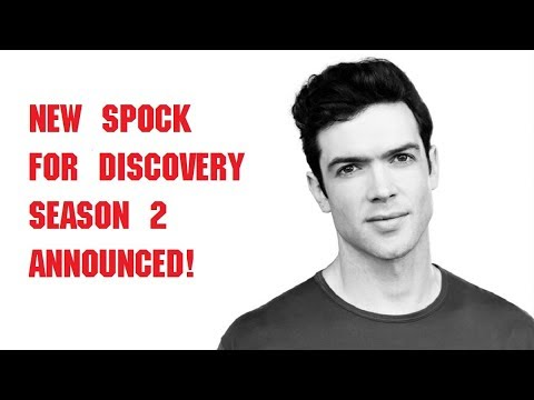 New Spock for Discovery has been cast!