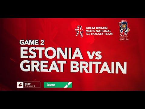 IHUKTV - GB in Nottingham - Estonia vs Great Britain