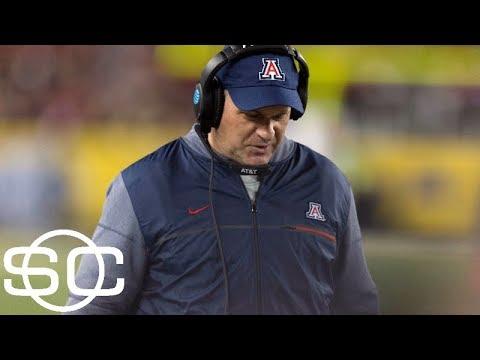 Arizona fires football coach Rich Rodriguez